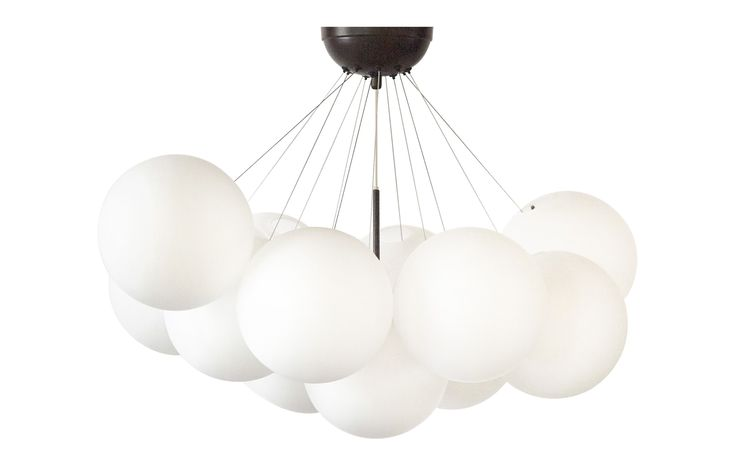 Aalto White Chandelier - Transitional Chandeliers - Dering Hall