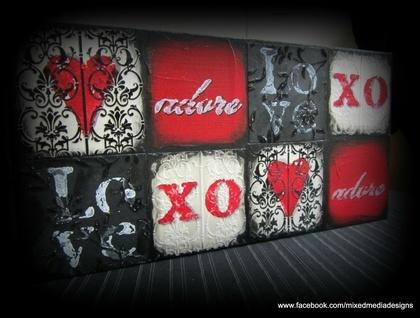 Mosaic Love Block