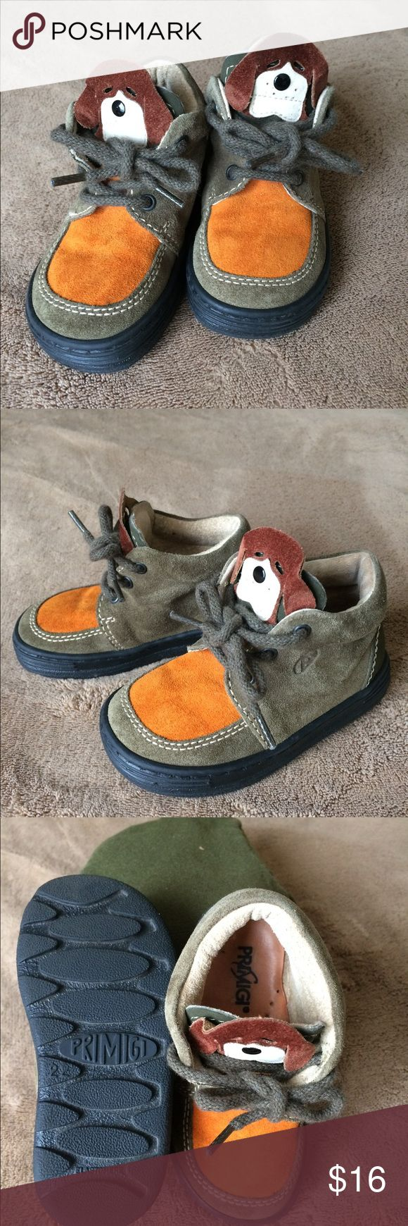 Primigi Toddler Boys Shoes Size 22 Primigi Italian brand European size 22 (US size 6) Very nice leather shoes. Worn once maybe twice,but is in great condition. Smoke and pet free home. Primigi Shoes Boots