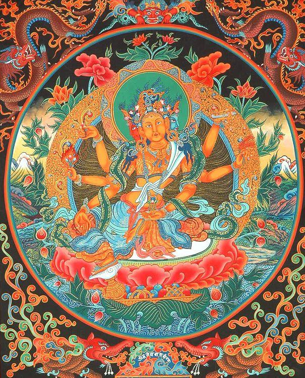 Beautiful bodhisattva by artist padmapani essay