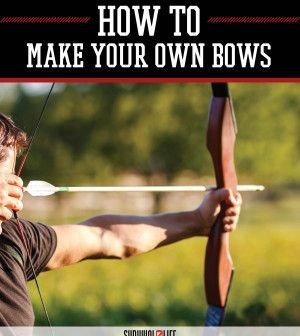 Bow Making Course - How to Make Your Own Bows | DIY Video Tutorial On How To Make Your Own Weapon by Survival Life at http://survivallife.com/2015/06/02/bow-making-how-to/