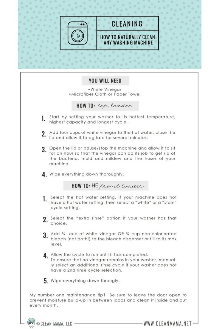 best images about clean mama s all time favorite pins on clean your washing machine ease thanks to this printable
