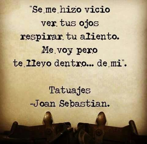 Joan Sebastian-Tatuajes