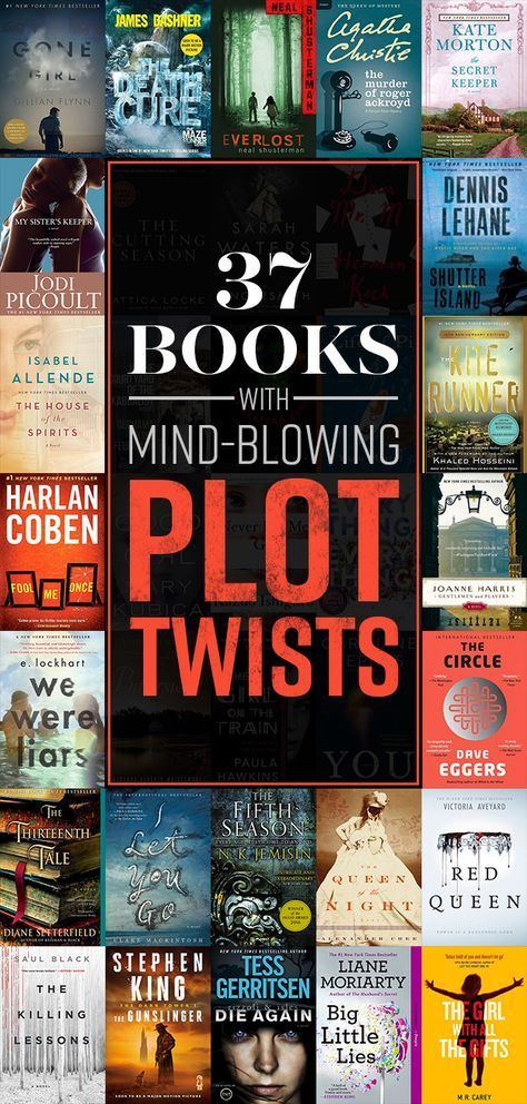 LOOKING FOR SOME GREAT SUMMER READS THAT ARE NOT TEACHING RELATED! 37 Books With Plot Twists That Will Blow Your Mind