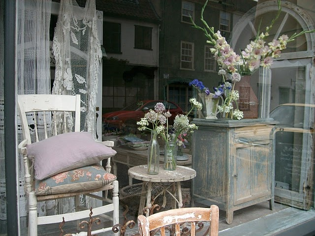 window display at The Bell Jar, NorwichBell Jars, Belle Jars, Decor Ideas, French Shops, Shabby Chic, Dreams Shops, Windows Display, Display Ideas, Display Windows