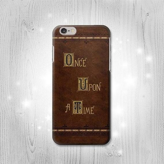 Once Upon a Time Book Cover iPhone 6S 6 Plus 6 5 5S by Lantadesign