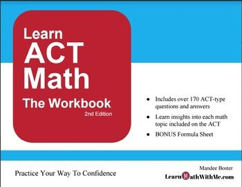 The 29 best act math prep images on pinterest maths mathematics act math practice workbook over 170 questionsanswers tips strategies fandeluxe Image collections