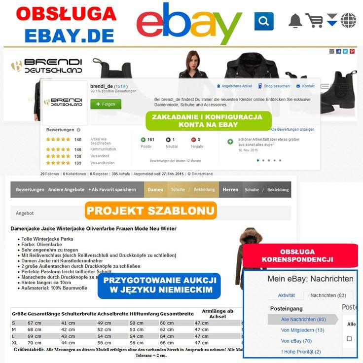 Co obejmuje obsługa #ebay.de Twojej firmy? 1. Pośrednictwo w zakładaniu #firmy w Niemczech 2. Zakładanie kont ebay.de, konfiguracja płatności #Paypal 3. Projekt #szablonu na ebay w języku niemieckim 4. Projekt aukcji w języku niemieckim, atrybuty, kategorie, optymalizacja treści, słowa kluczowe 5. #Kontakt mailowy i telefoniczny w języku niemiecki. Masz #produkt który powinien dotrzeć do klienta w #Niemczech? Skontaktuj sie z nami: tel. 792 817 241 biuro@e-prom.com.pl