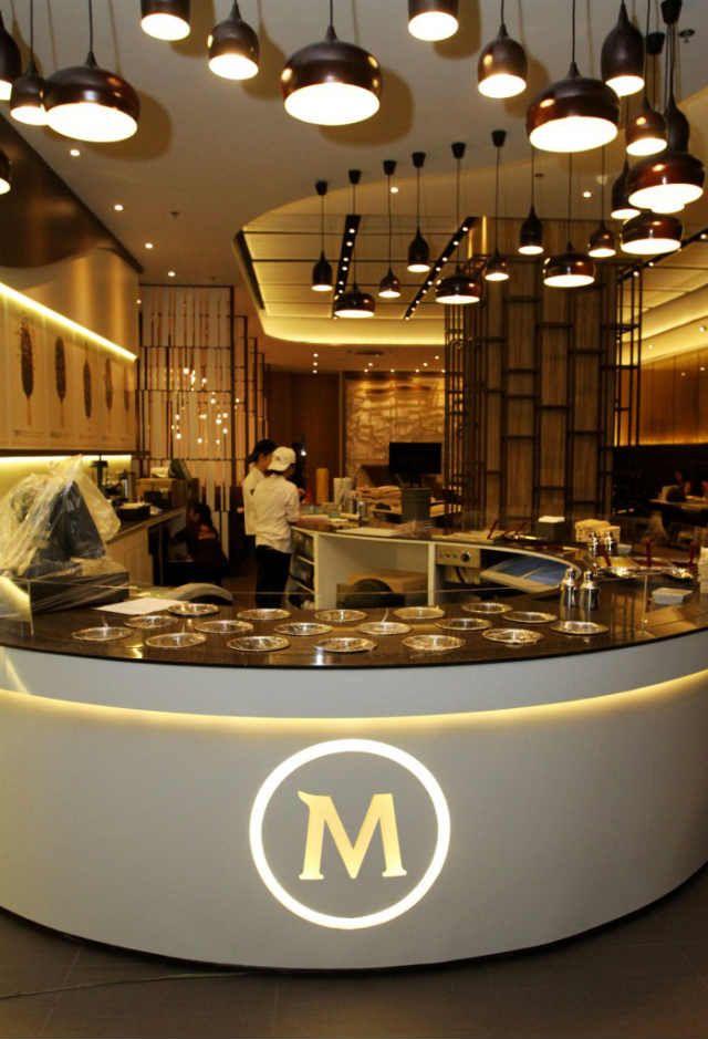 Philippines magnum pleasure pop up restaurant pop ups for Magnum pop up store