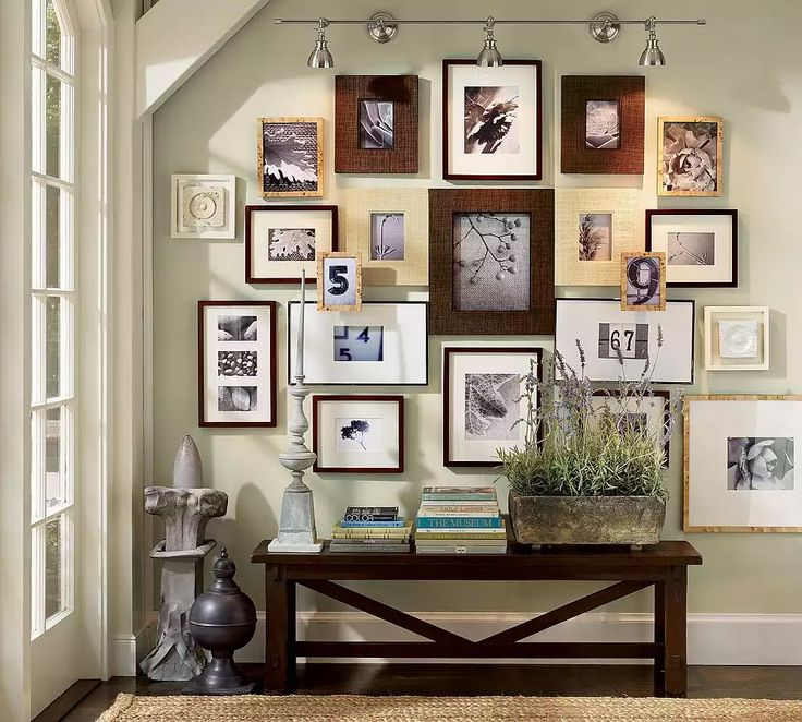 20 best Picture Frame Collage Ideas images on Pinterest | Wohnideen ...