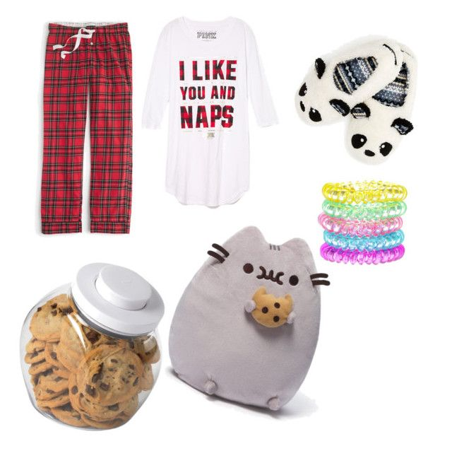 """""""Sleep over 🌙🌟"""" by ariba95 ❤ liked on Polyvore featuring J.Crew, OXO and Gund"""