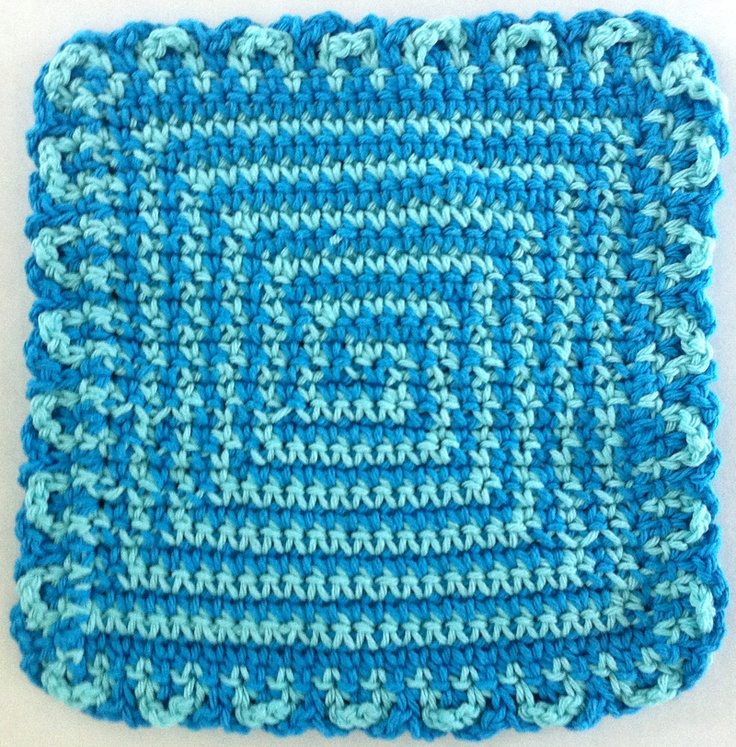 Crochet Patterns Only Spiral Scrubbie : More like this: dishcloth , spiral crochet and crochet dishcloths .