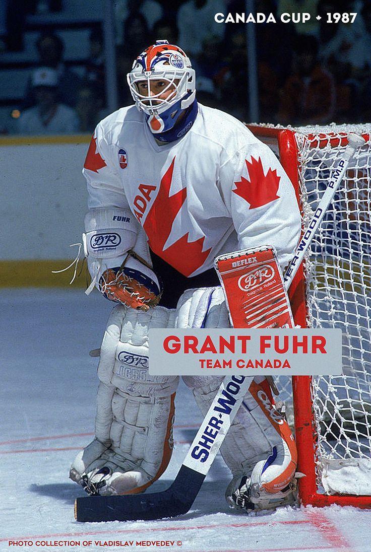 Grant Fuhr #teamcanada #hockey #canadacup