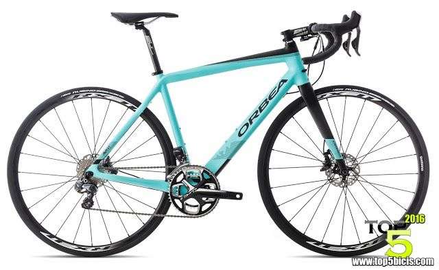 TOP 5 BICICLETAS DE CARRETERA: ORBEA AVANT M20id, una bici de gran fondo