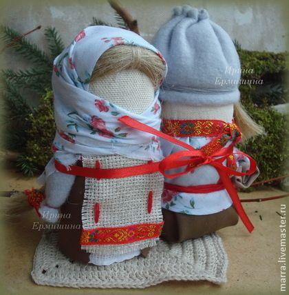 Народные куклы ручной работы. Ярмарка Мастеров - ручная работа КРУПЕНИЧКА  и БОГАЧ - обереги на сытость и богатство в семье. Handmade.