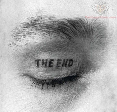 The End Funny Drug Tattoo
