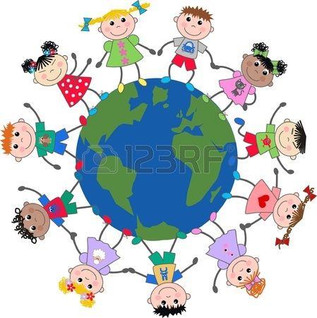 misti bambini etniche di tutto il pianeta photo