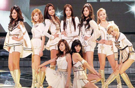 Korean K POP ; Girls Generation