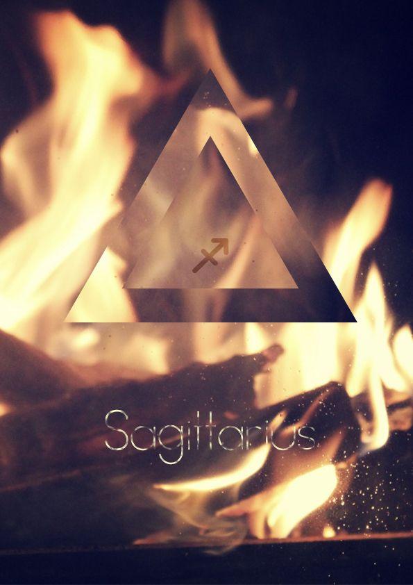 Fire sign Sagittarius