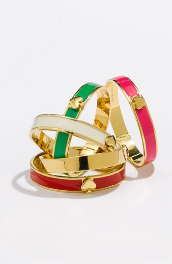 "kate spade ""spade"" bangles: Girls Accessories, Fashion Shoes, Fashion Models, Spade Bangles, Girls Fashion, Cars Accessories, Best Friends Bracelets, Kate Spade, Spade Spade"
