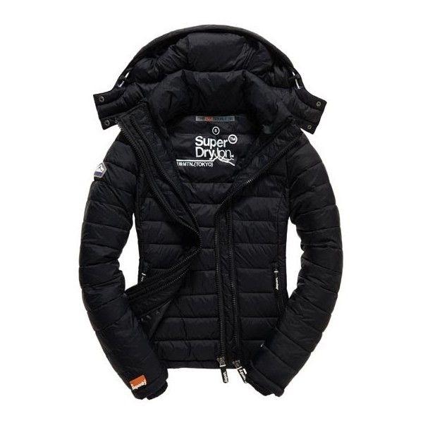 Fuji Double Zip Jacket ($136) ❤ liked on Polyvore