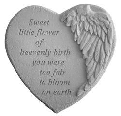 Infant Loss Memorial Garden Stone