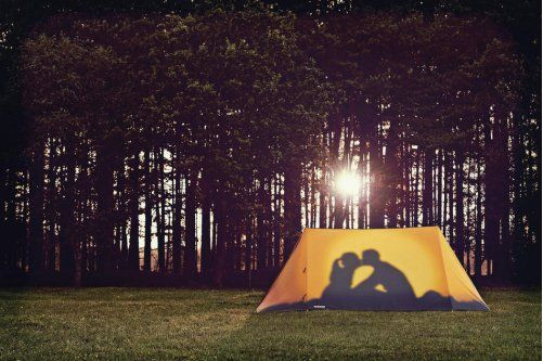 Camp cool: Tents take a stylish turn, indoors and out | Daily Chronicle