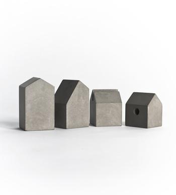 Concrete town houses