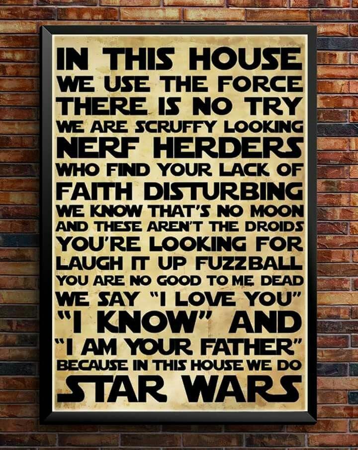 Waaaaaaaant This Cause I DO STAR WARS · Starwars DiyStarwars DecorSalon ...