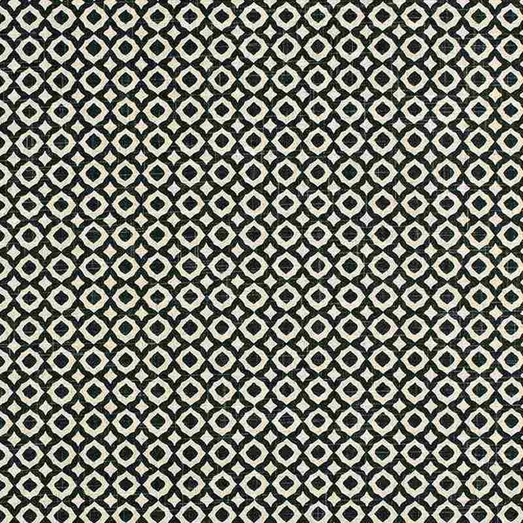 Warwick Fabrics : JAIPUR BLACK