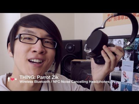 Parrot Zik Wireless Noise Cancelling Bluetooth Headphones Review