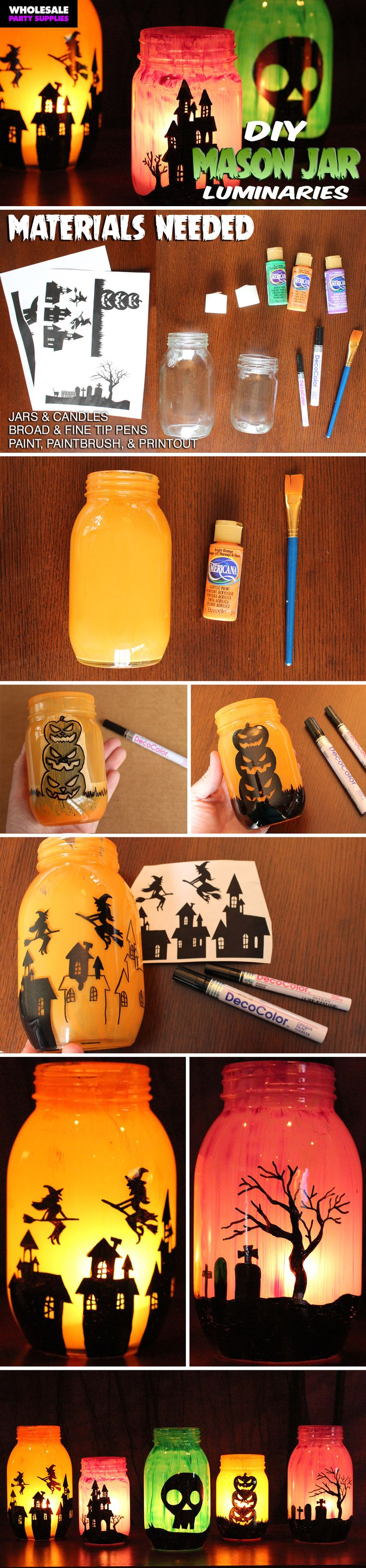 1000 halloween decorating ideas on pinterest diy for Make your own halloween decorations