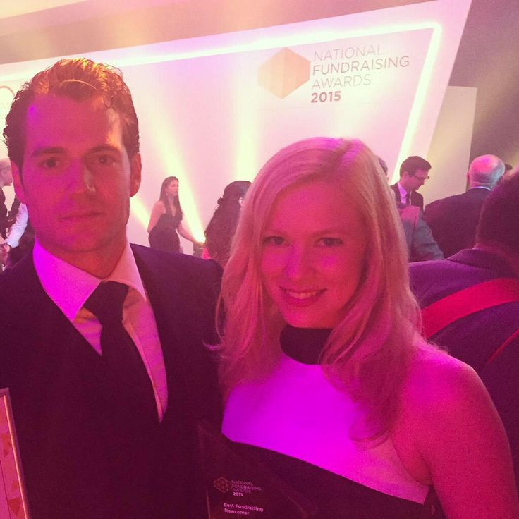 """@hannah_polly Won an award AND met #Superman Henry Cavill. Monday's should always be this exciting"""