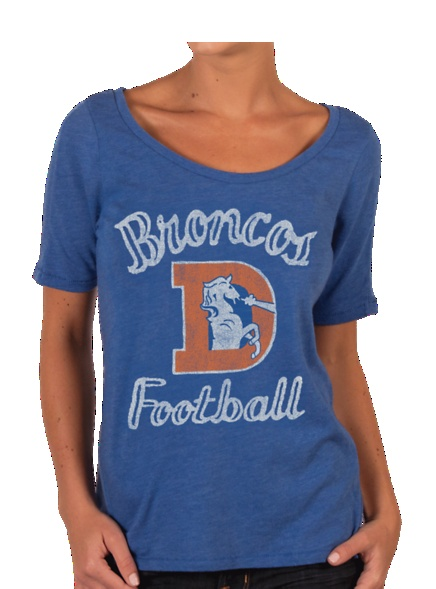 Wish I had this for the game tomorrow - Vintage Denver Broncos T-Shirt