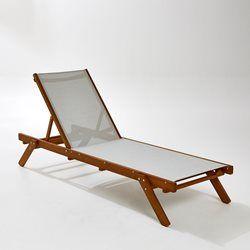 Bain de soleil Aurette La Redoute Interieurs - Transat, chaise longue