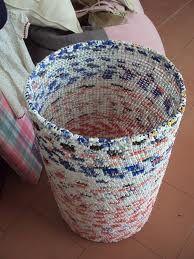 reciclagem de sacolas plasticas passo a passo - Pesquisa Google