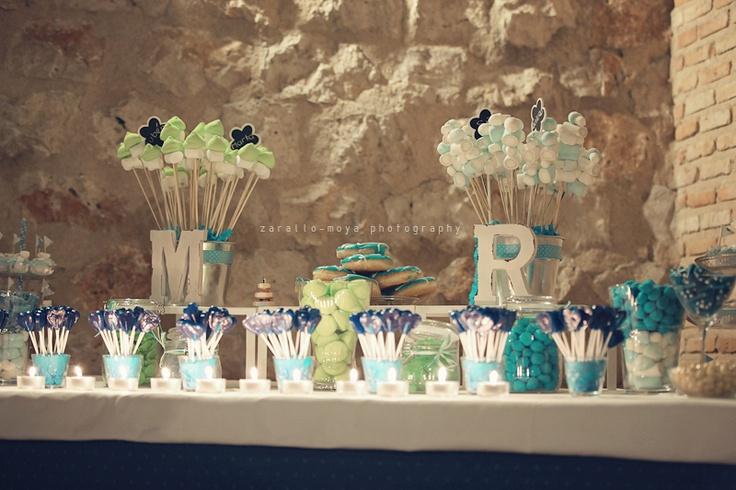 #candybar en la boda Marta y Rubén en el #parador de #chinchon #bodasreales #bodas #ideales donde podrás personalizar al máximo.