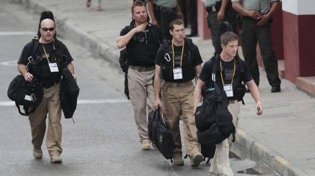 Skandaliserede. Agenter fra det amerikanske Secret Service sikkerhedstjekkede i torsdags konferencecenteret i Cartagena, Colombia, før…