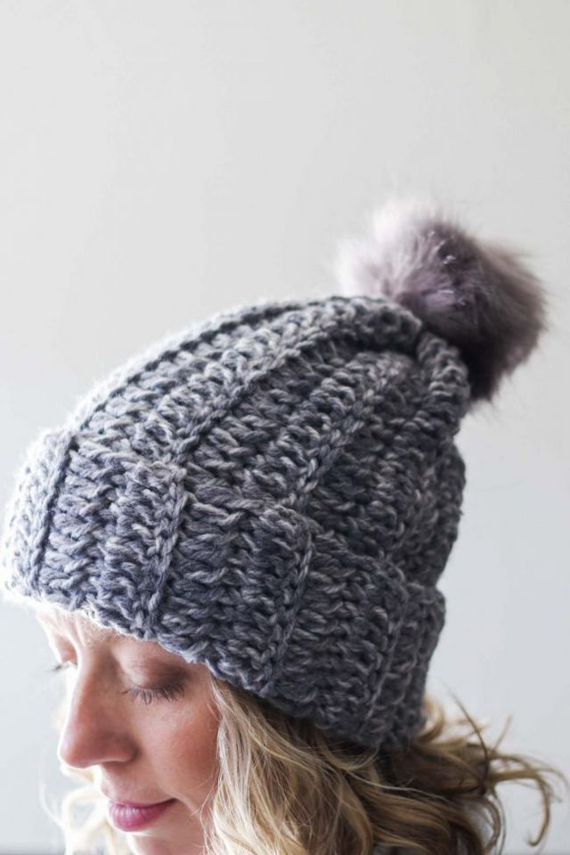 ec58f8ea5d33 The 1.5 Hour Beanie Free Tutorial from Make   Do Crew! (LoveCrochet ...