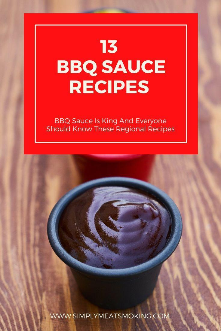 Basic Barbecue Sauce Recipe Bbq Sauce Recipe Sauce Barbecue