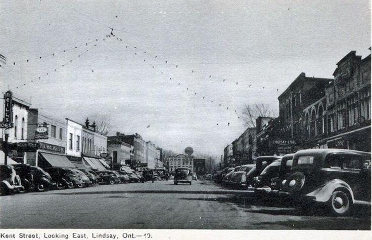 Kent St, Lindsay 1938