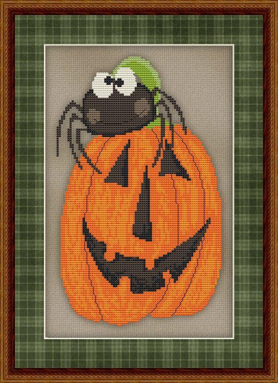 96 Best Halloween Cross Stitch Images On Pinterest Cross