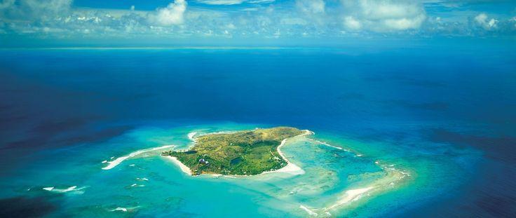 Luxury Holiday Ideas Necker Island Resort Aerial shot