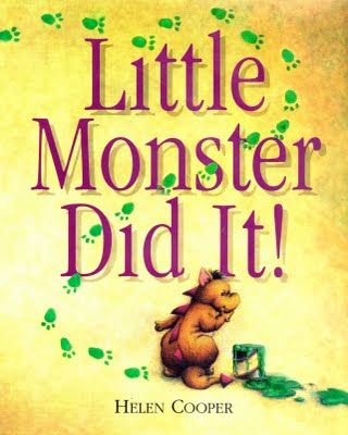 My Favourite Books: PBS #7 - Little Monster Did It by Helen Cooper