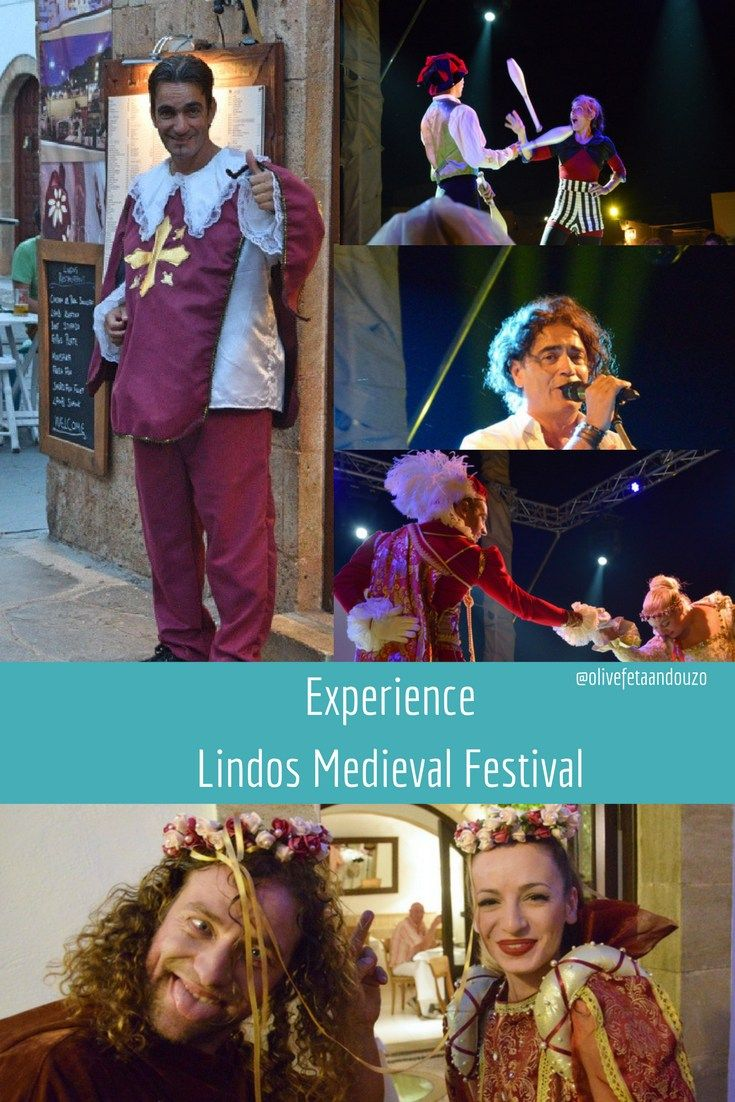 experience Lindos Medieval Festival