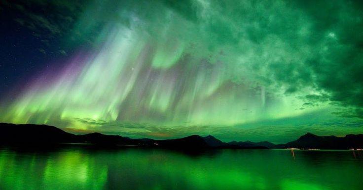 Οι ωραιότερες φωτογραφίες της NASA από το Βόρειο Σέλας!