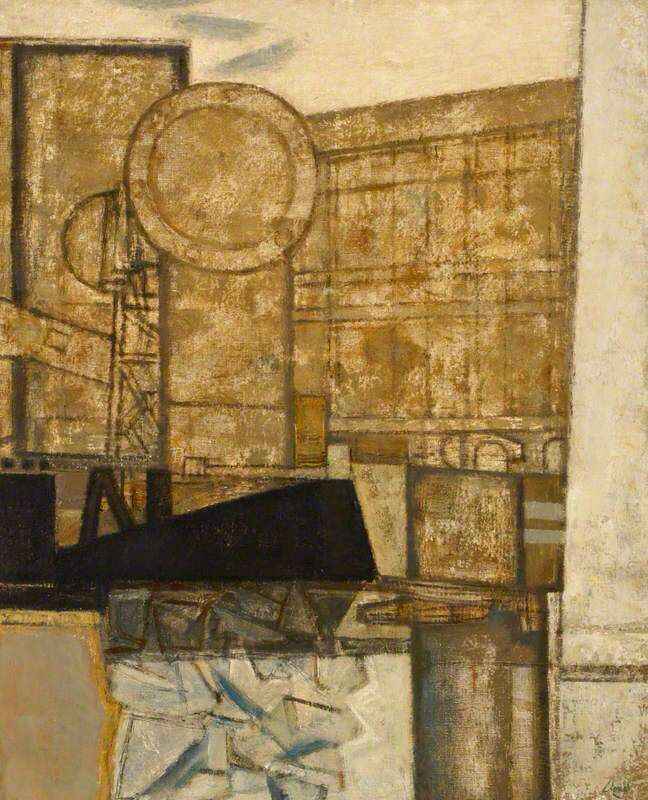 An Industrial View by Prunella Clough