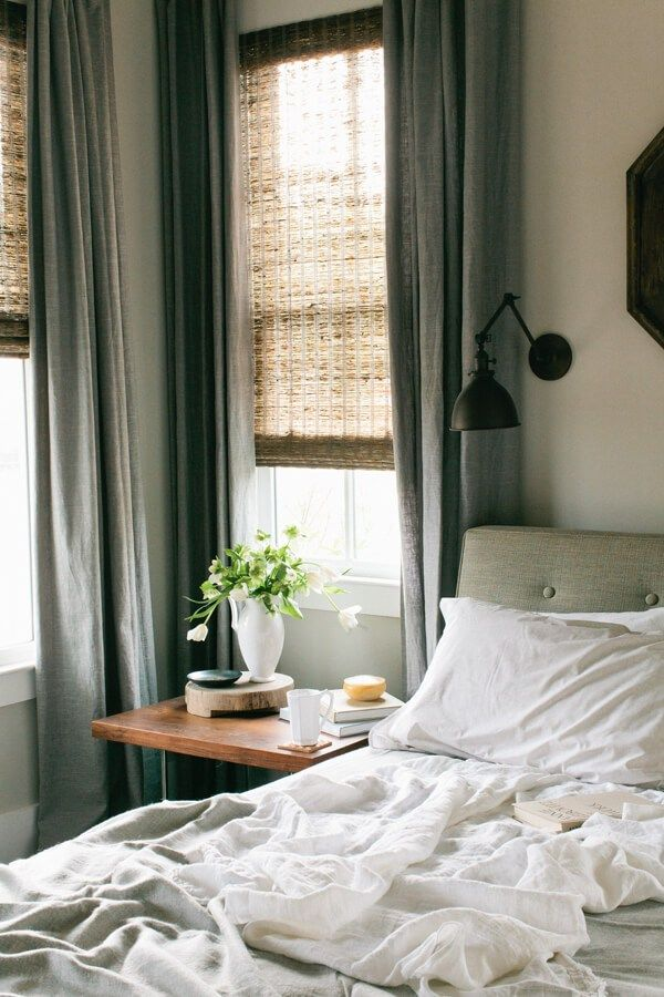 9 Solutions For How To Dress Awkward Windows Style By Emily Henderson Pinterest Bedroom Home And Decor