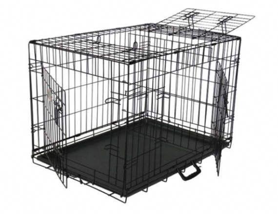 Dog Kennel Crate Cozy Condo Crate 3 Door With Top Door With Leak Proof Plastic Pan Dog Crate Crates Dog Kennel Outdoor