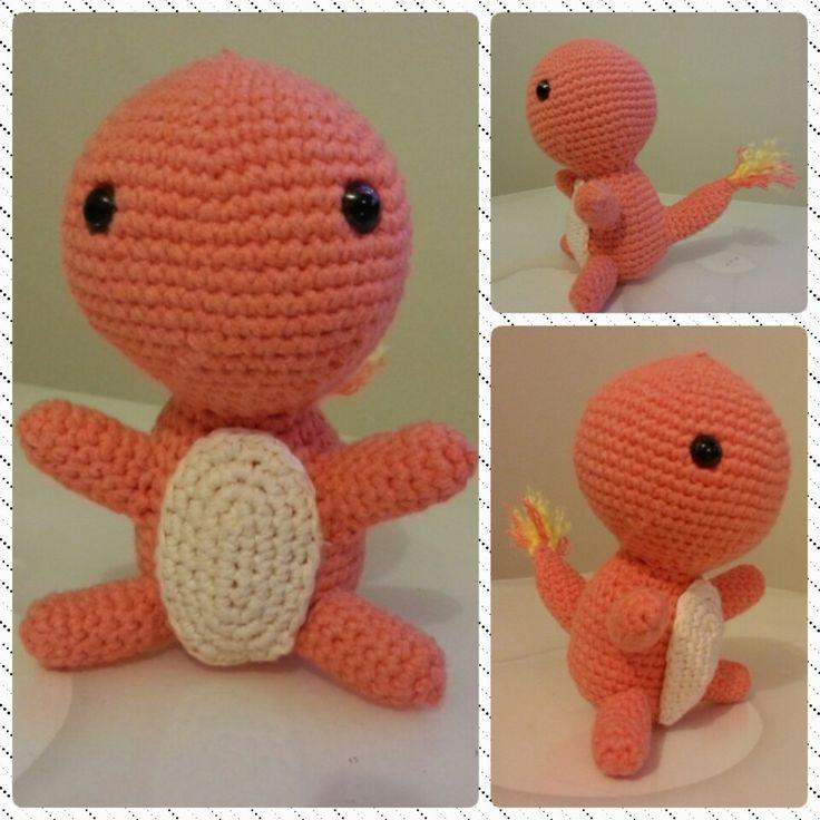 #charmender #amigurumi #crochet #orgu #hobi #pokemon
